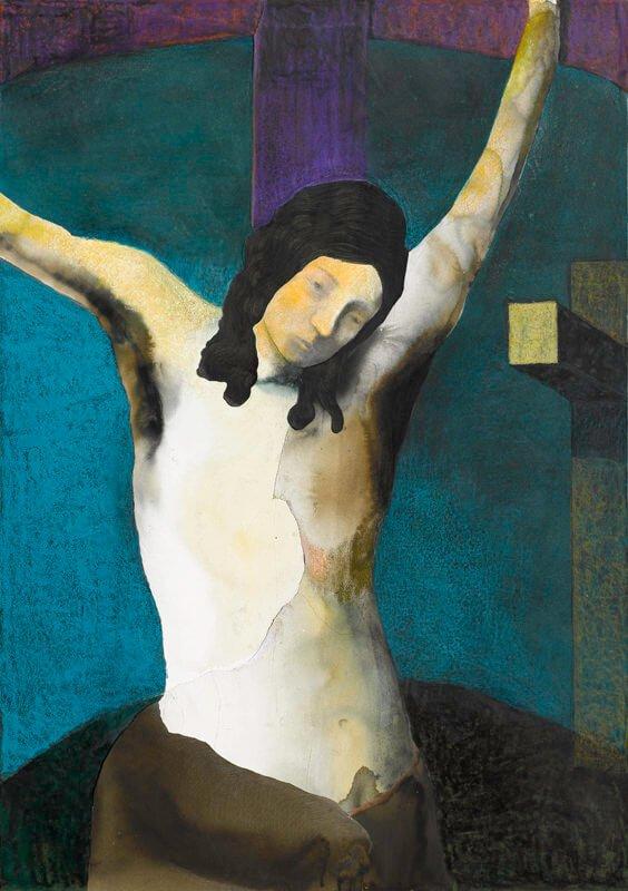 Crucifixion, xvi, 2013