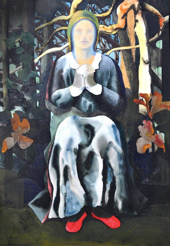 Adoration of saint Claire, 2013