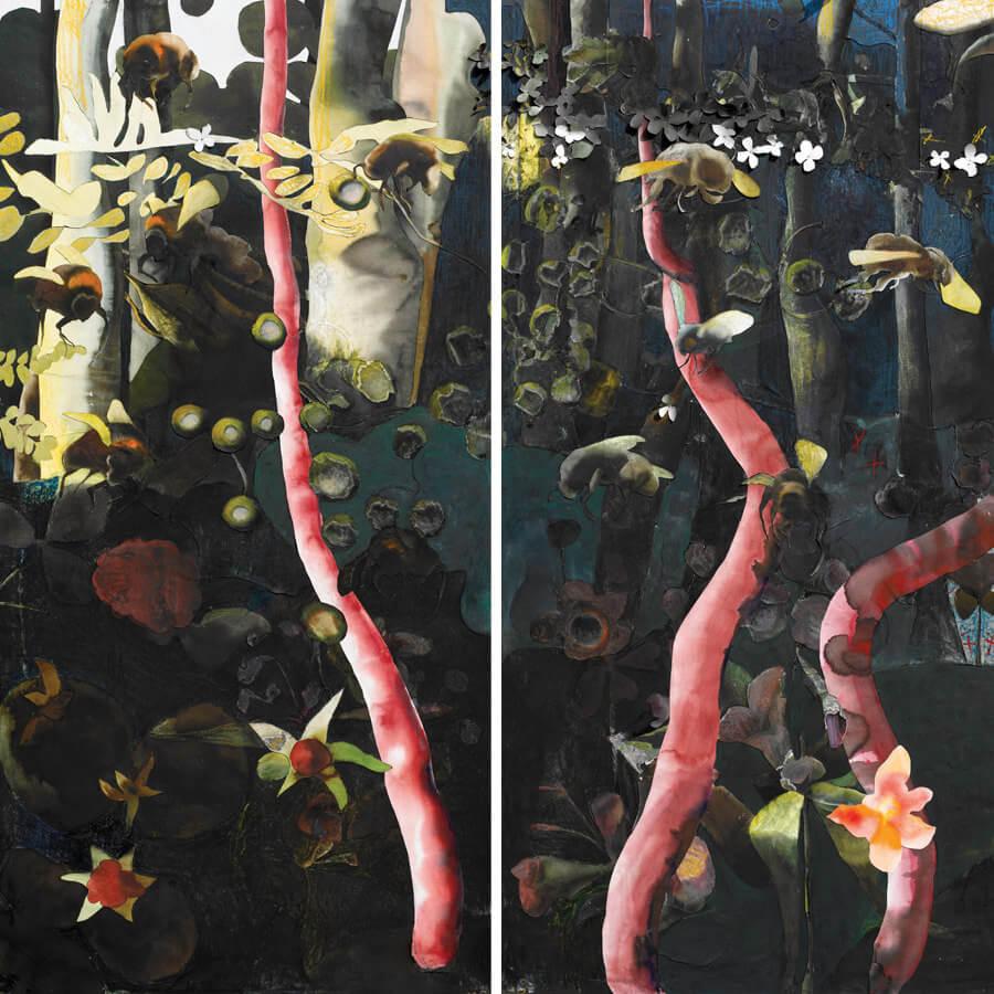 Moveable garden, viii, 2014