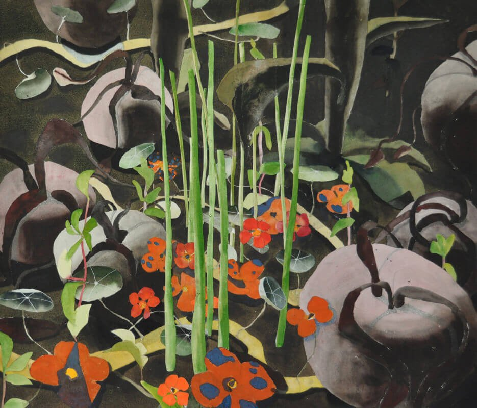 Beetroots and grasses, 2011