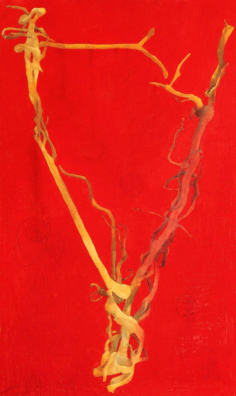 Burwash wood, iii, 2002