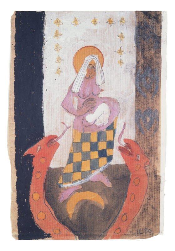 Chap 4, v. 18, The Revelation of Saint John, 1990