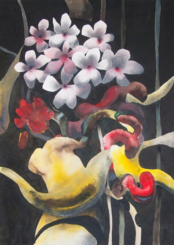 Cherry blossom, ii (nihonga), 2019