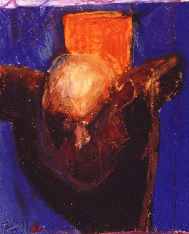 Crucifixion, i, 1990