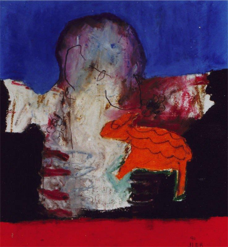 Crucifixion, iii, 1990