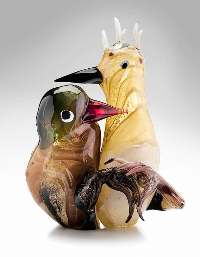 Kissing birds, 2011