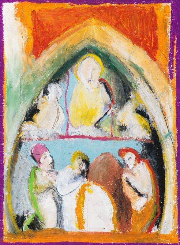 Adoration, iii, 1989