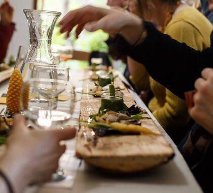 Culinary event in my studio